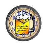 Only here for the Beer Wall Clock