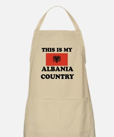 This Is My Albania Country Apron