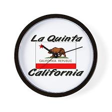 La Quinta California Wall Clock