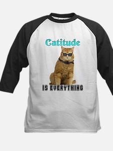 Catitude Kids Baseball Jersey