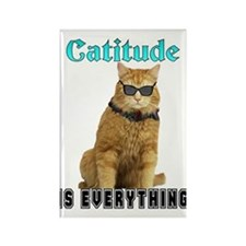 Catitude Rectangle Magnet