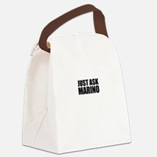 Just ask MARINO Canvas Lunch Bag