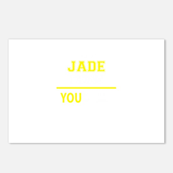 JADE thing, you wouldn't Postcards (Package of 8)
