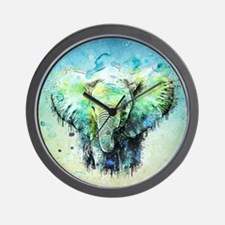 Unique Elephants Wall Clock