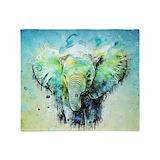 Elephant Fleece Blankets