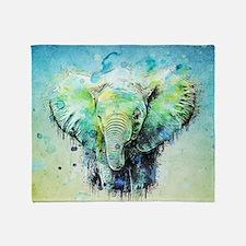 Unique Elephant Throw Blanket