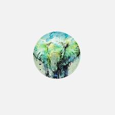 Unique Elephant Mini Button