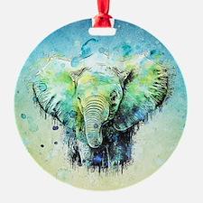 Cute Elephant Ornament
