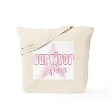 Breast Cancer Survivor since  Tote Bag