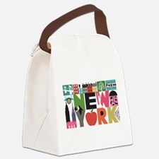 Unique New York - Block by Block Canvas Lunch Bag