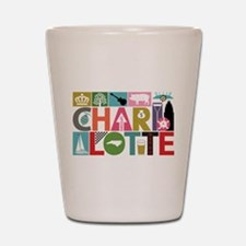 Unique Charlotte - Block by Block Shot Glass