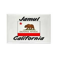 Jamul California Rectangle Magnet
