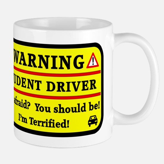 Warning Student Driver Mugs