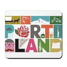 Unique Portland - Block by Block Mousepad