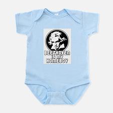 Beethoven is my Homeboy Infant Bodysuit