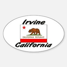 Irvine California Oval Decal