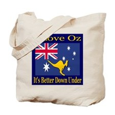 I Love Oz Tote Bag