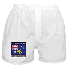 I Love Oz Boxer Shorts