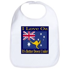I Love Oz Bib
