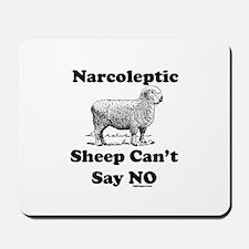 Narcoleptic Sheep Can't Say N Mousepad