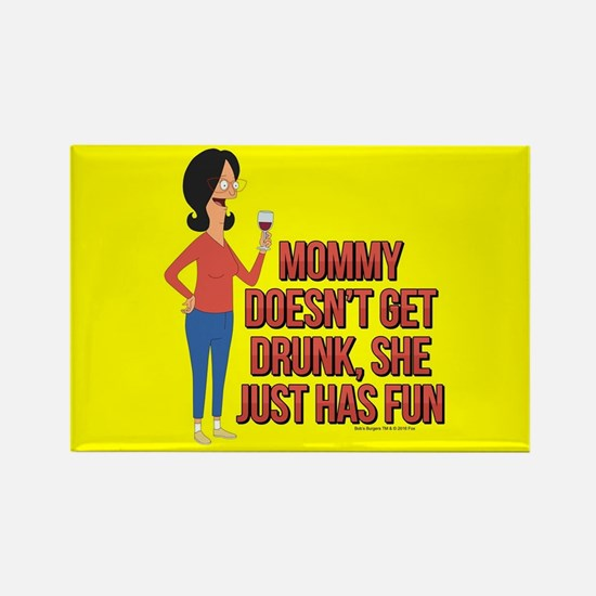 Bob's Burgers Linda Wine Rectangle Magnet