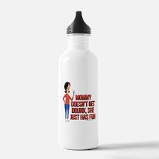 Bob's Burgers Linda Wi Water Bottle