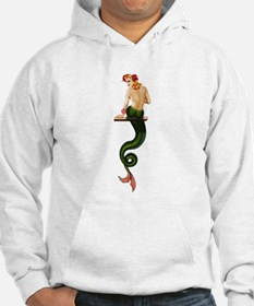 Vintage Pin Up Mermaid ~ Summer Hoodie