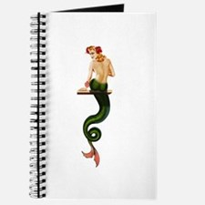 Vintage Pin Up Mermaid ~ Summer Journal