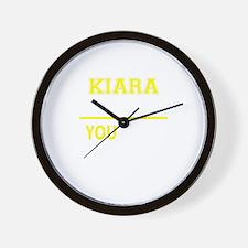 KIARA thing, you wouldn't understand! Wall Clock