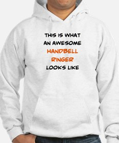awesome handbell ringer Jumper Hoody
