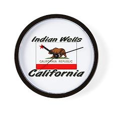 Indian Wells California Wall Clock