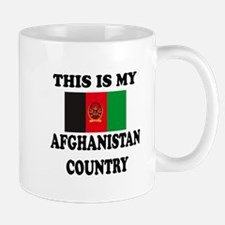 This Is My Afghanistan Country Mug