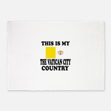 This Is My Vatican City Country 5'x7'Area Rug