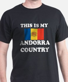 This Is My Andorra Country T-Shirt