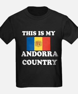 This Is My Andorra Country T