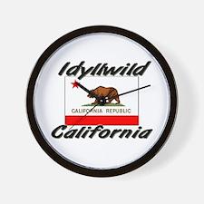 Idyllwild California Wall Clock