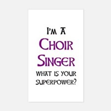 choir singer Decal