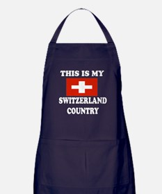 This Is My Switzerland Country Apron (dark)