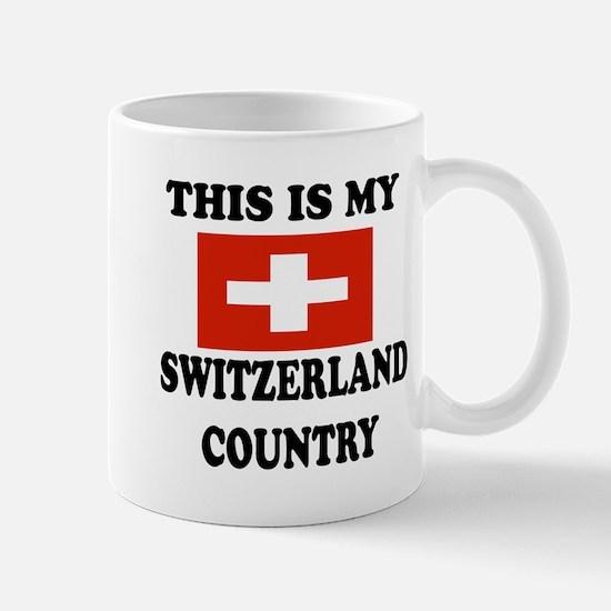 This Is My Switzerland Country Mug
