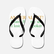 Amber Alert Flip Flops