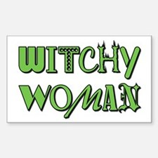 WITCHY WOMAN Decal