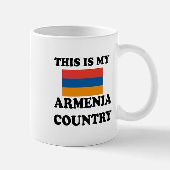 This Is My Armenia Country Mug