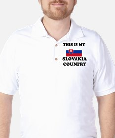 This Is My Slovakia Country T-Shirt