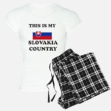 This Is My Slovakia Country Pajamas