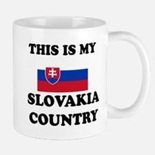 This Is My Slovakia Country Mug