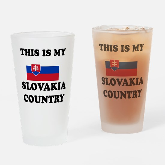 This Is My Slovakia Country Drinking Glass
