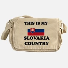 This Is My Slovakia Country Messenger Bag