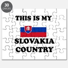 This Is My Slovakia Country Puzzle