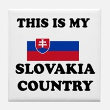 This Is My Slovakia Country Tile Coaster