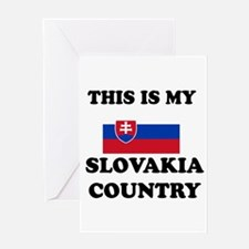 This Is My Slovakia Country Greeting Card
